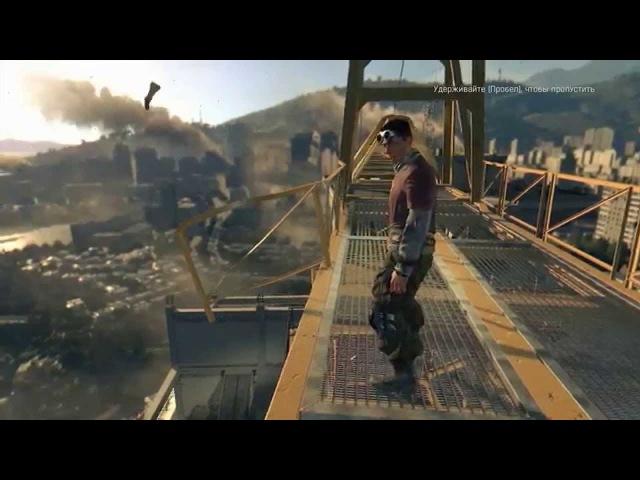 подивись обовязково Игры про зомби - Dying Light. Первый взгляд игры против зомби.