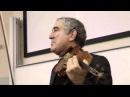 Михаил Казиник лекция в RISEBA Рига 2010