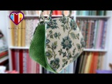 Bolsa de tecido Tahiti. Tuto sacs en tissu. Comment faire un sac en tissu. TutoDIY couture