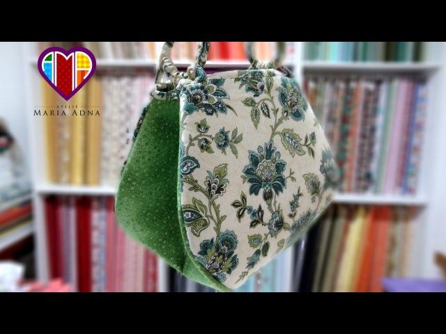 Bolsa de tecido Tahiti. Tuto sacs en tissu. Comment faire un sac en tissu. Tuto/DIY couture