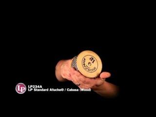 МУЗИМПОРТ: Демонстрация Кабасы LP234A - LP Standard Afuche / Cabasa (Wood)