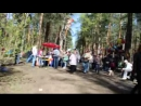 Прогулка по главной аллее 09.05.2015. Парк Сосновка С.-Петербург.