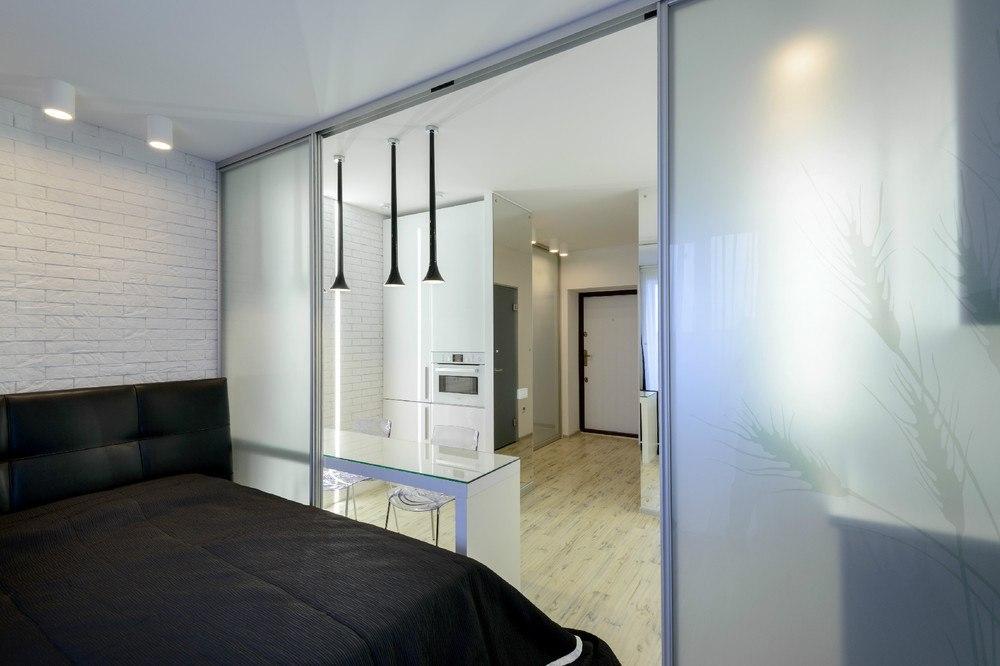 Квартира 29 м в стиле минимализм в Новосибирске.