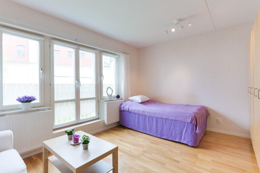 Интерьер квартиры 27 м в Европе.
