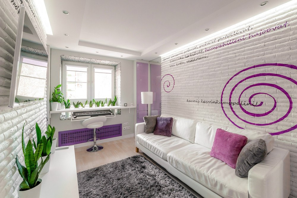 Совсем маленькая квартира 20 м в Москве.
