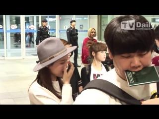 [FANCAM] 151012 T-ara @ Incheon Airport