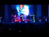 Иракский танец в исполнении ансамбля