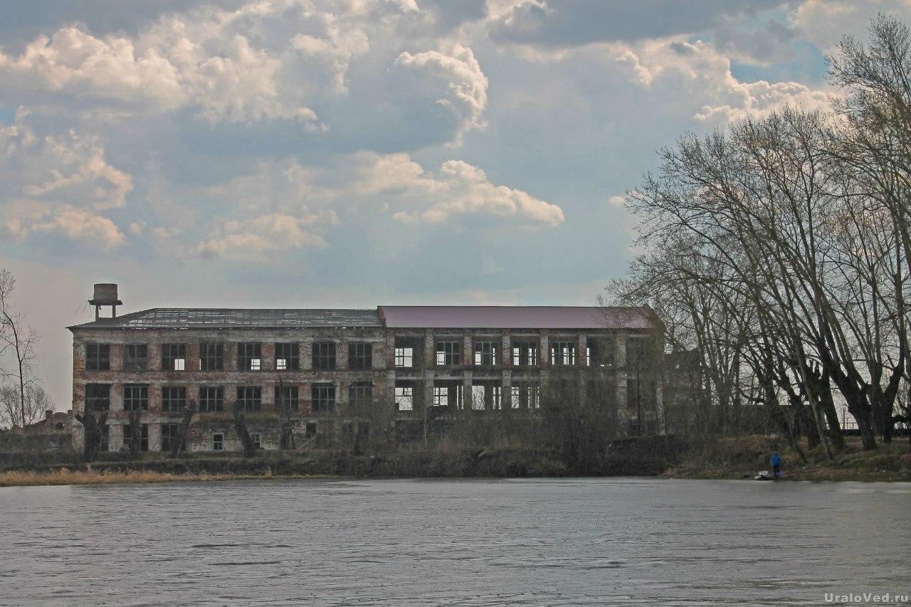 Бывшая валяльная фабрика в Камышево