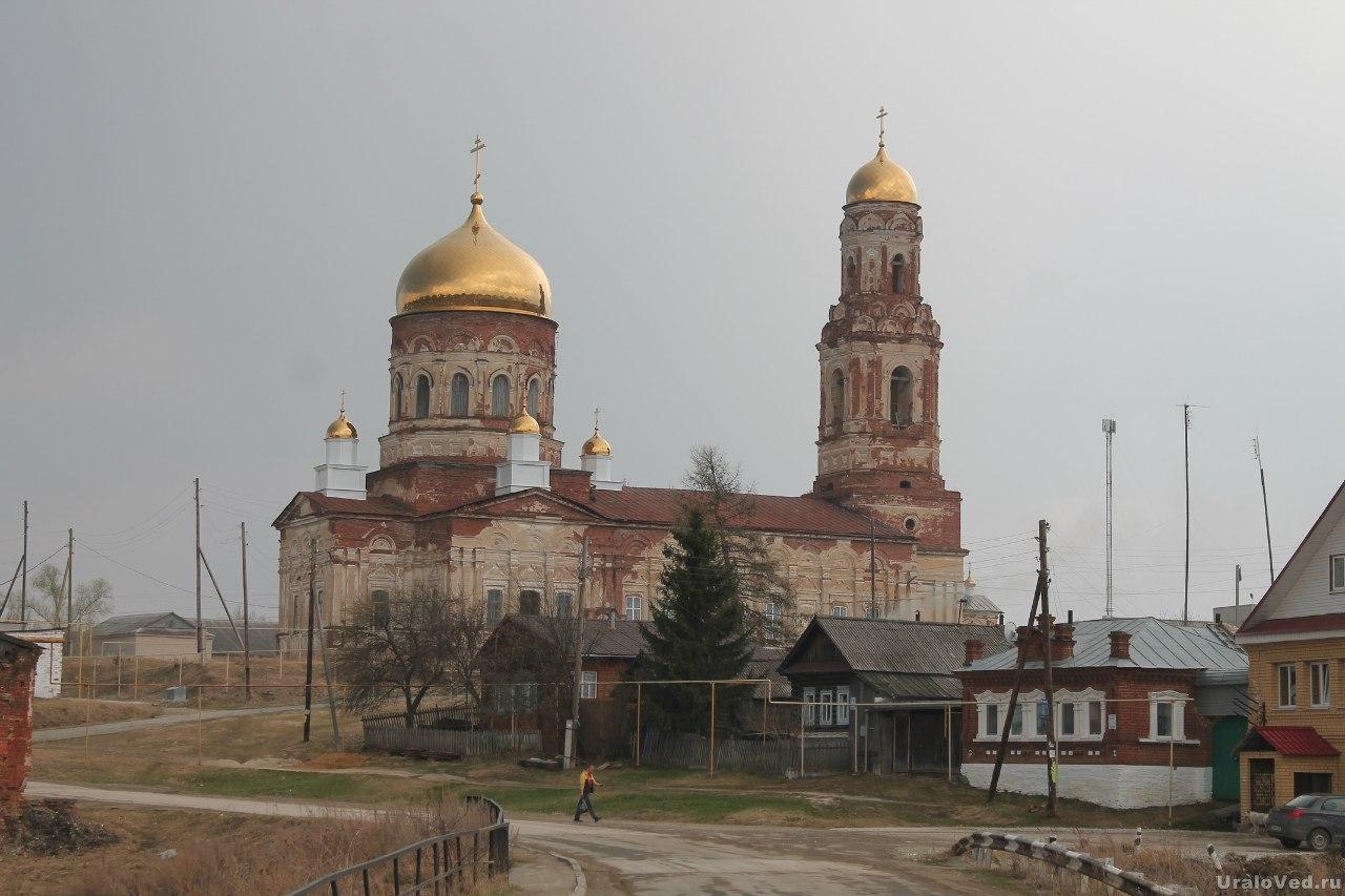 Михаило-Архангельская церковь в Маминском
