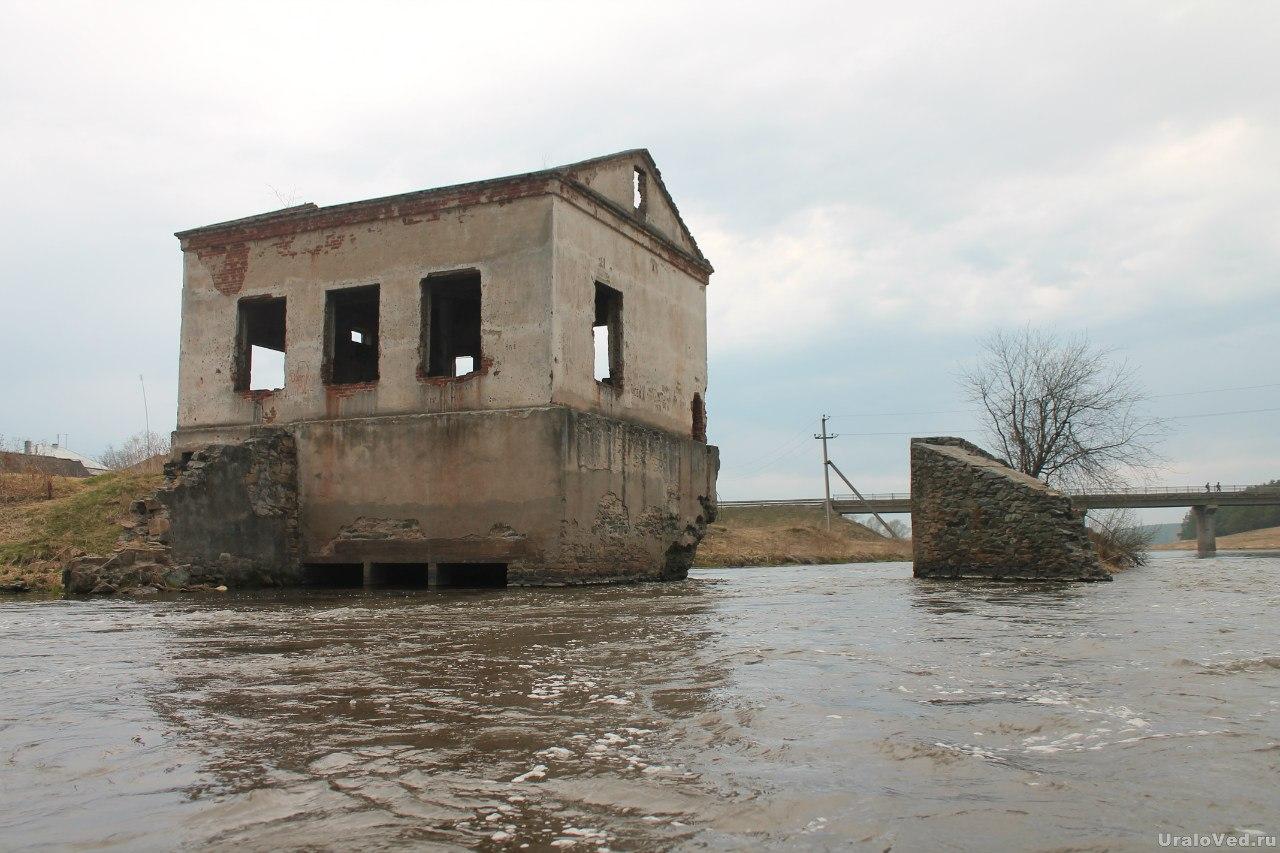 Мельница на реке Исеть