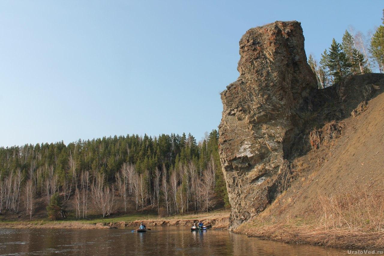 На реке Исеть