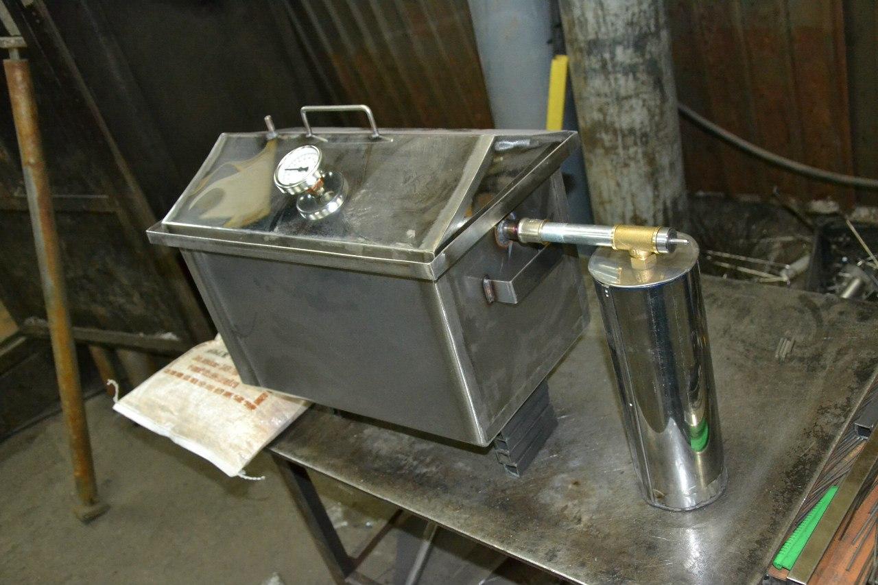 Как сделать дымогенератор для своими руками 121