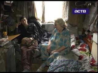 В аварийном доме на улице Украинской рушится потолок, чиновники оставили людей без всякой помощи