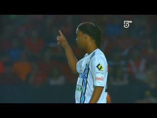 Ronaldinho Fantastic Backheel Pass - Veracruz vs Queretaro 2-2 (Liga MX)