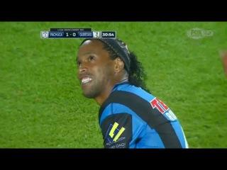 Ronaldinho vs Pachuca - Pachuca vs Queretaro 2-0 (Liga MX 21-05-2015)