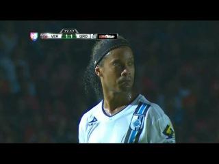 Ronaldinho vs Veracruz - Veracruz vs Queretaro 2-2 (Liga MX 17-05-2015)