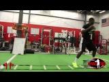 Varsity House Gym - Mad QB Presents  Drop The Line Quarterback Drills