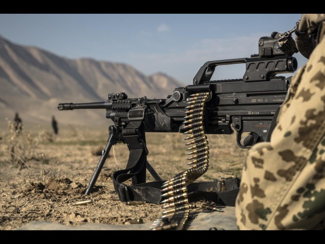 MG4 G28 and G82 Weapon Training Bundeswehr