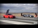 Vorsteiner BMW M6 F12 Drag Races at Shift S3ctor