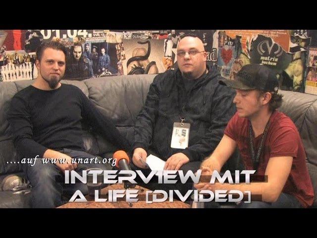 UnArt Live TV - Interview A Life Divided, Matrix Bochum 2011
