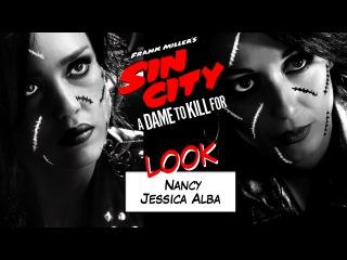 Maquillage Jessica Alba alias Nancy // Sin City 2