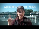 Weekly French Words with Lya - Months of the Year