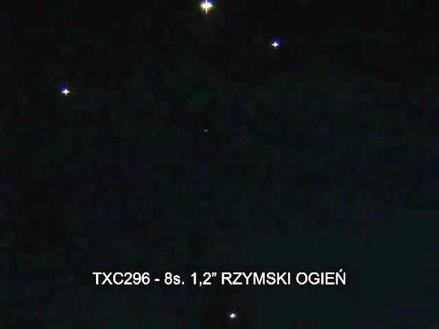 Fajerwerki TXC296 Rzymski Ogień 8s 1.2 Triplex