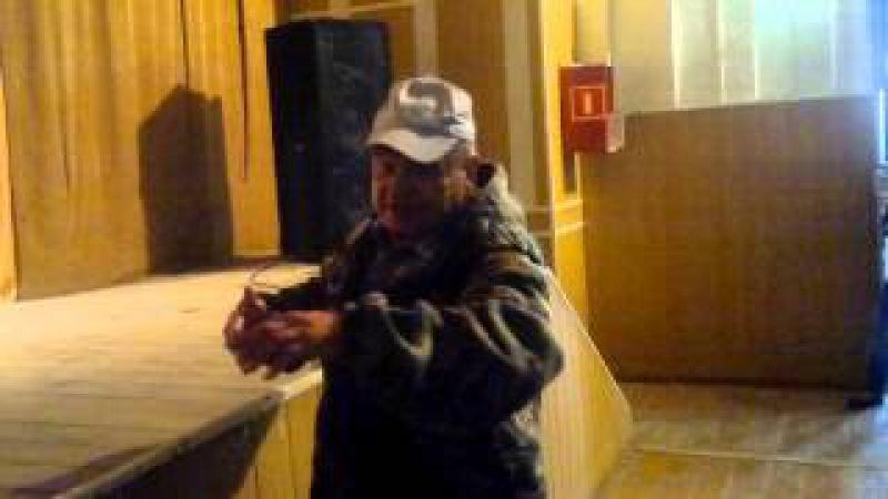 Собрание погорельцев с Шира 14 09 2015г Полянская А В Косович Иван