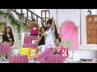 【TVPP】IU - Poppin Dance + Sexy Dance, 아이유 - 팝핀댄스 + 섹시댄스 @ World Changing Quiz Show