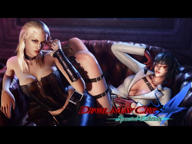 Devil May Cry 4 Special Edition Full Movie All Vergil|Trish|Lady Cutscenes