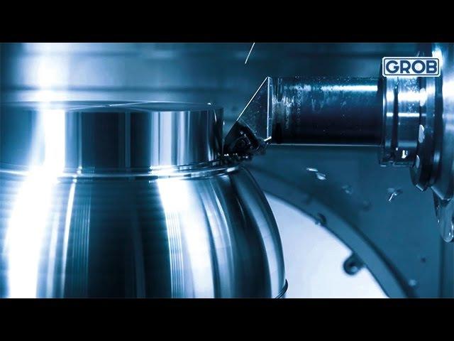 G550T High-speed milling / Leistungsdrehen