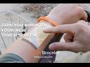 The Cicret Bracelet Like a tablet...but on your skin. Cicret - футуристичный браслет со встроенным проектором
