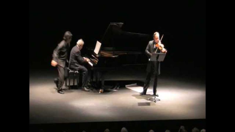 Manny Spring Sonatas - New Sketch by Igudesman Joo featuring Emanuel Ax