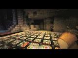 Прохождение карты Amnesia в Minecraft #2 Гравий полетел
