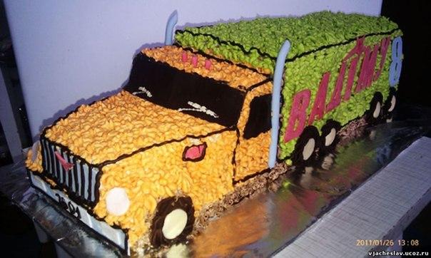 тортик в виде машины фото