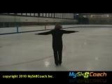 Заход на вращение. Видеоуроки фигурное катание vk.com/skatingdress