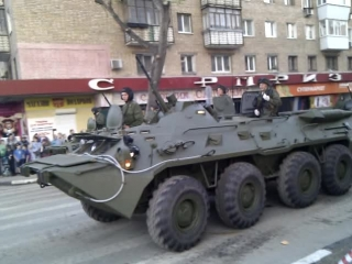 Подготовка к параду Победы 2015 Самара ч.2
