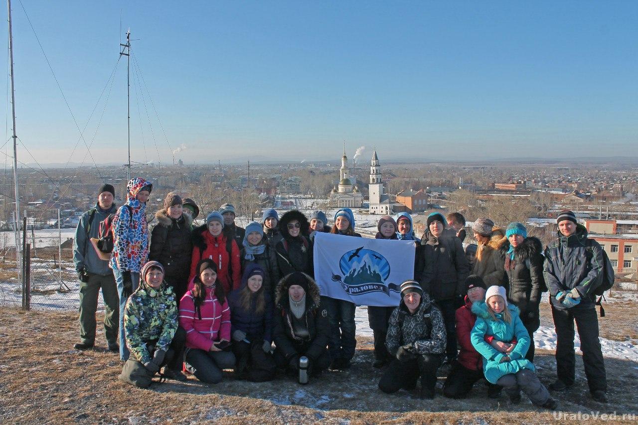 На горе Лебяжка в Невьянске
