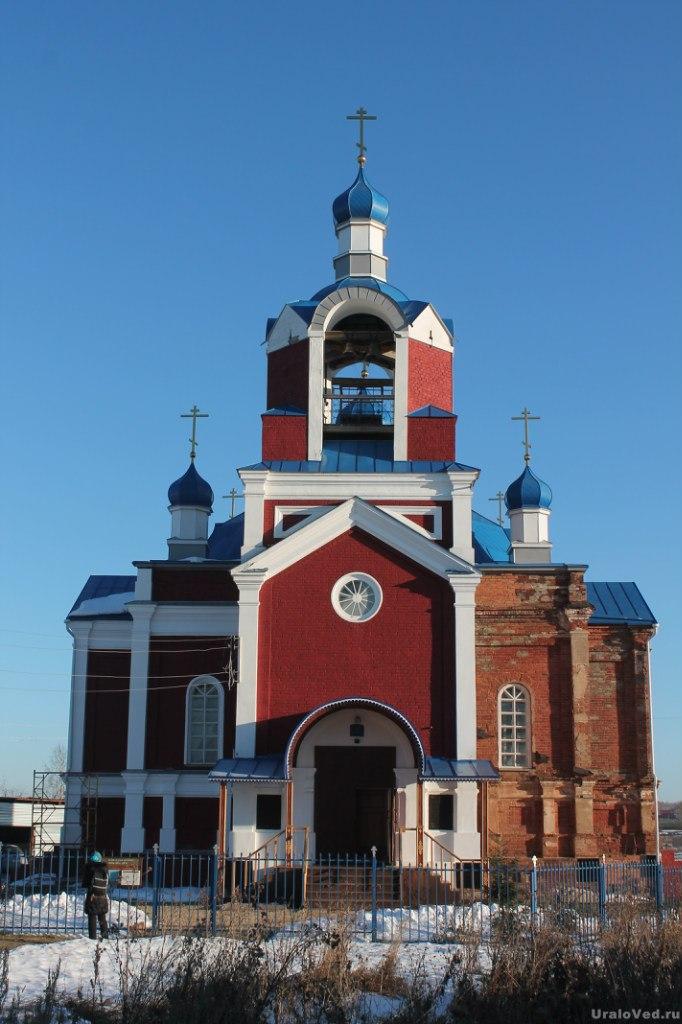 Старообрядческая церковь в Быньгах