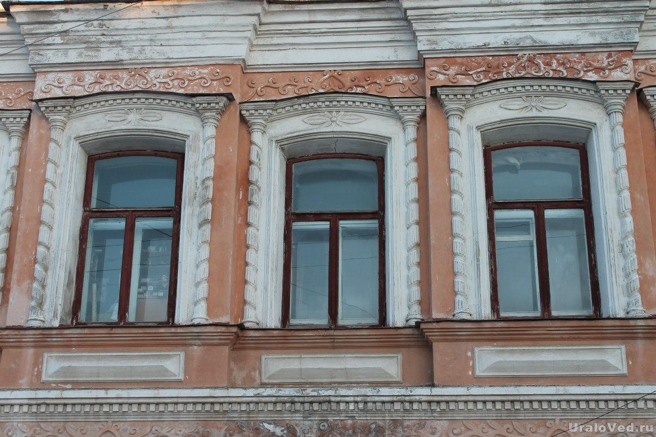 Бывший купеческий домик в Невьянске