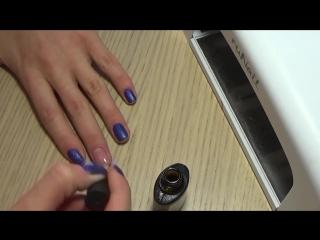 Маникюр. Покрытие гель лаком. Все этапы и техника нанесения. ногти. липецк.