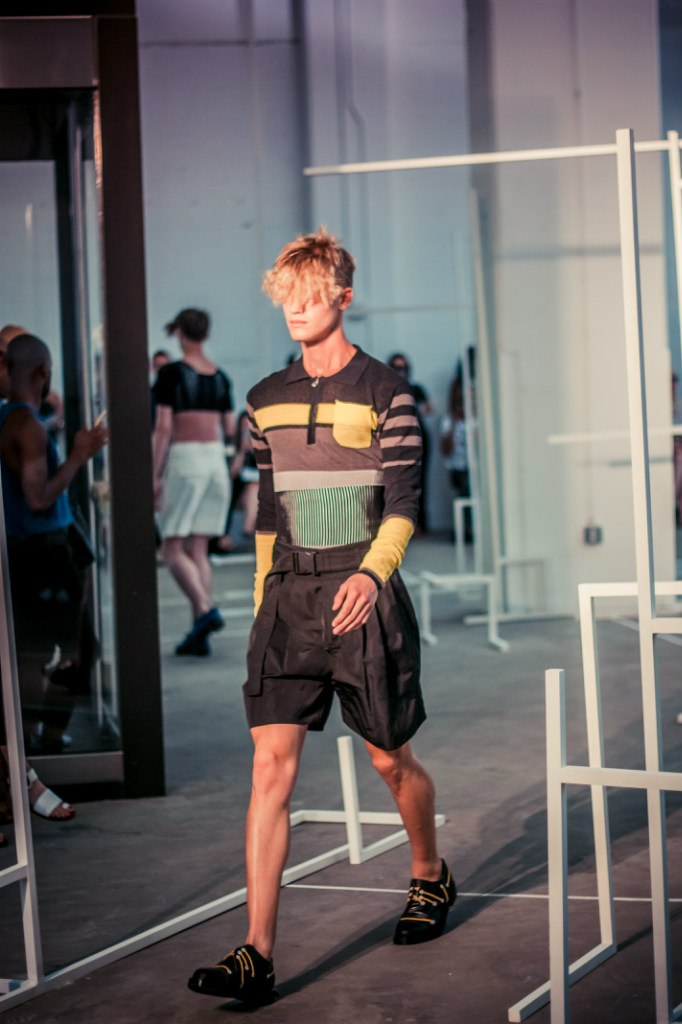 Edmund Ooi Men's RTW Spring 2016 By Mykola Hruts New York Fashion Week