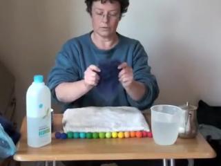 Простой и понятный видео мастер-класс валяния шарика из шерсти от rachael greenland.