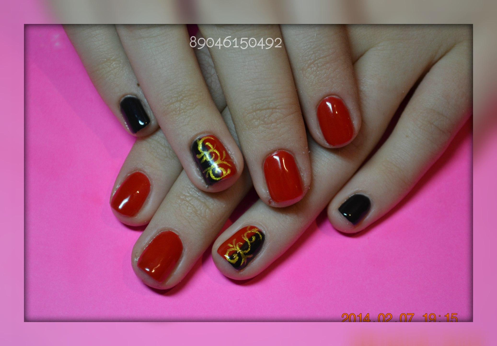 Дизайн острых ногтей фото гель