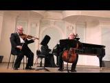 Ф. Шуберт Трио для фортепиано, скрипки и виолончели си-бемоль мажор, соч. 99  А. Селезнёв