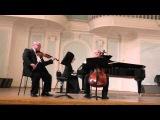 Ф. Шуберт К МУЗЫКЕ  Алексей Селезнёв (виолончель) В.Иванов (скрипка)  Т. Оганезова (фортепиано)