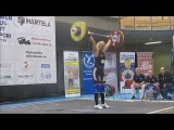Anna Everi training and competition
