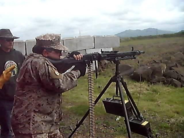 MG 42 Пулемёт. Лента на 100