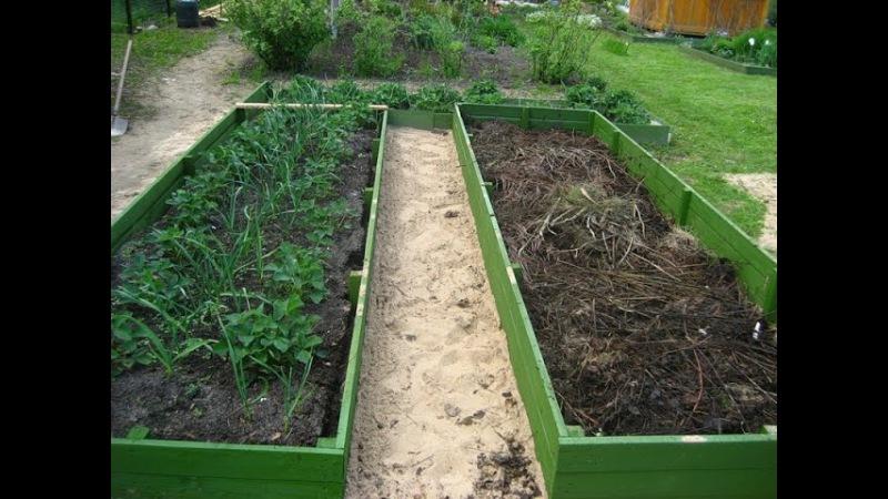 Грядки для огорода своими руками