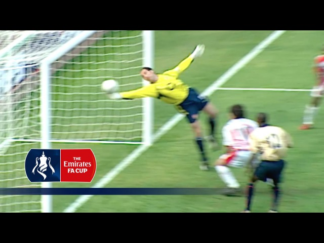 David Seaman's incredible FA Cup save | From The Archive